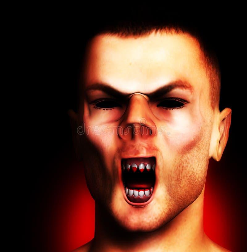 Download Vampire stock illustration. Image of demonic, creature - 11481226