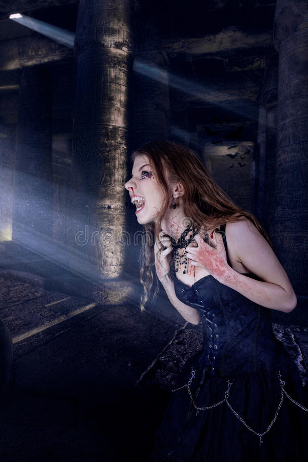 Download Vampire stock photo. Image of twilight, blood, horror - 26559216