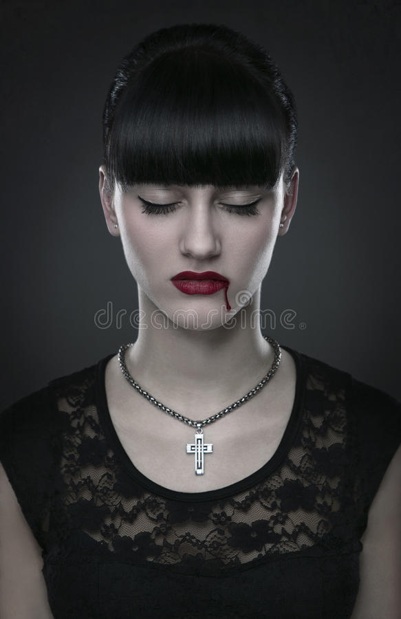 Download Vampire stock photo. Image of glamour, fantasy, closed - 28379166