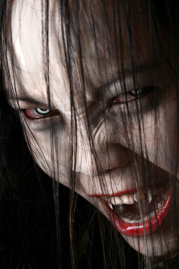 Download Vampire stock image. Image of fierce, pale, ghoul, make - 3194133