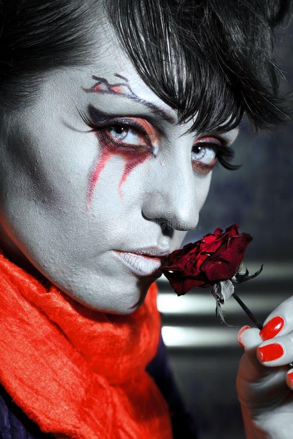 Vampire de Veille de la toussaint photos stock