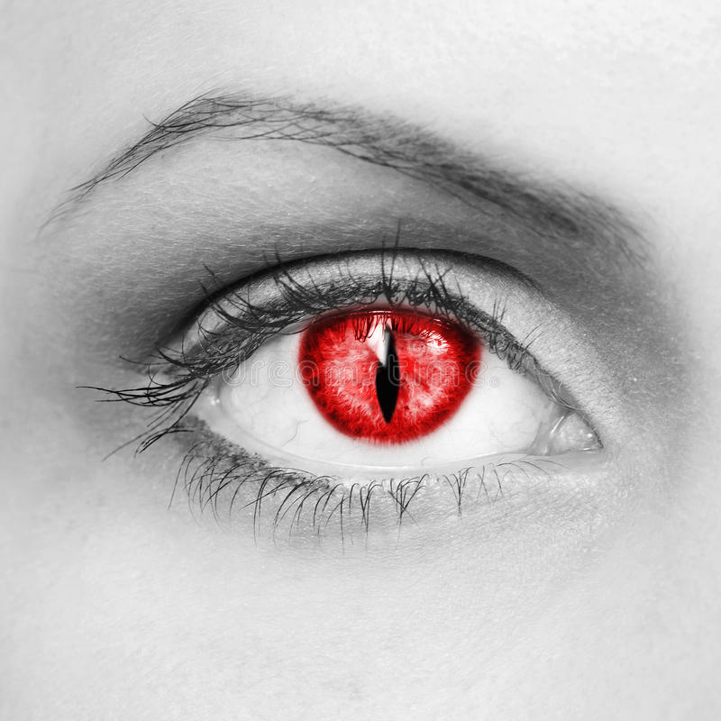Download Vampire Eyes Stock Images - Image: 27497794