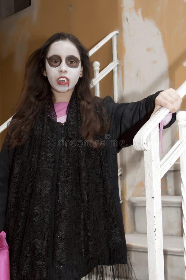 Download Vampire girl stock image. Image of looking, vampire, dress - 16749701