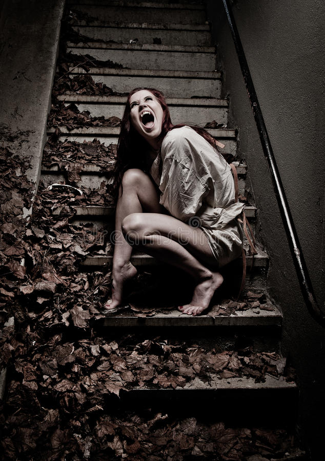 Download Vampire girl stock photo. Image of frightened, bondage - 20743580