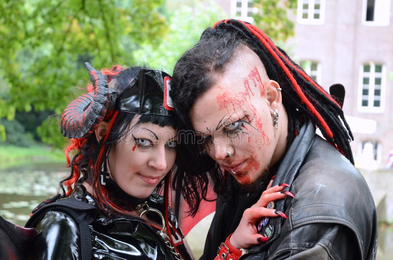 Download Vampire love editorial photo. Image of body, halloween - 21313311