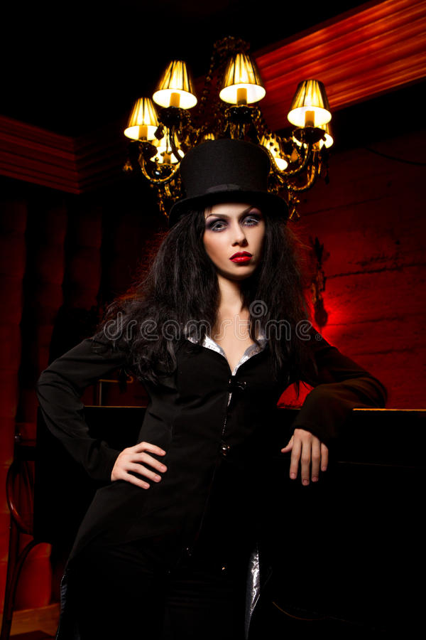 Download Vampire Next To Bar Stock Photography - Image: 27473752