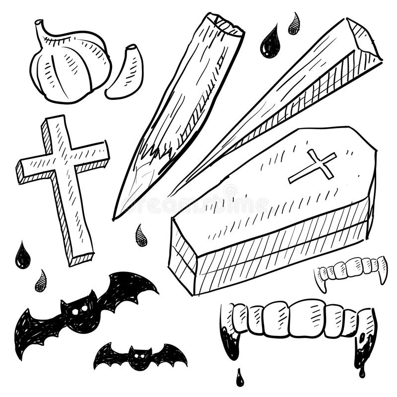 Vampire objects sketch