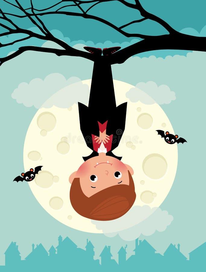 Free Vampire On Halloween Night Stock Image - 45469331