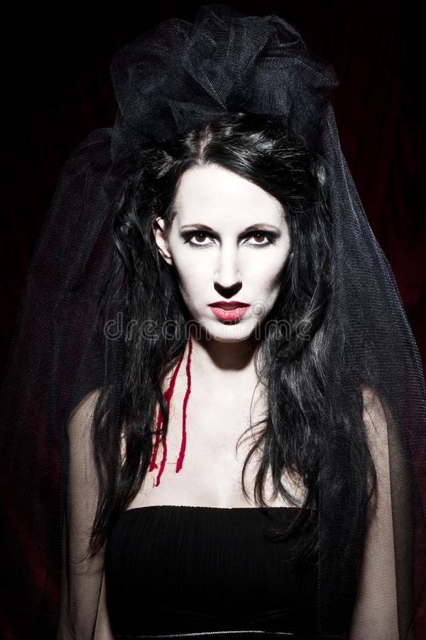 Vampire queen royalty free stock images