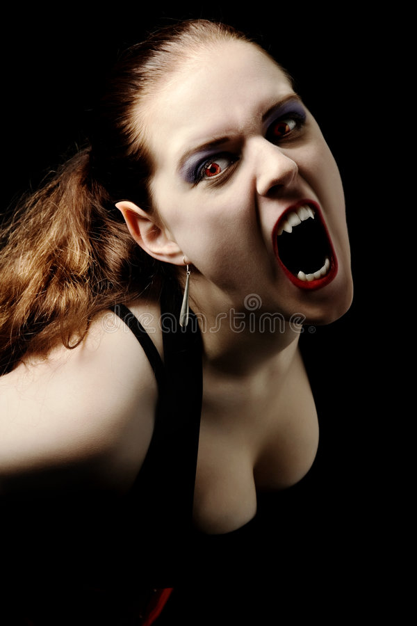Free Vampire Screaming Stock Image - 2771011