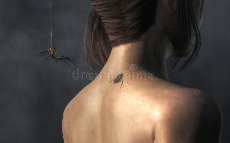 Vampire Spider vector illustration