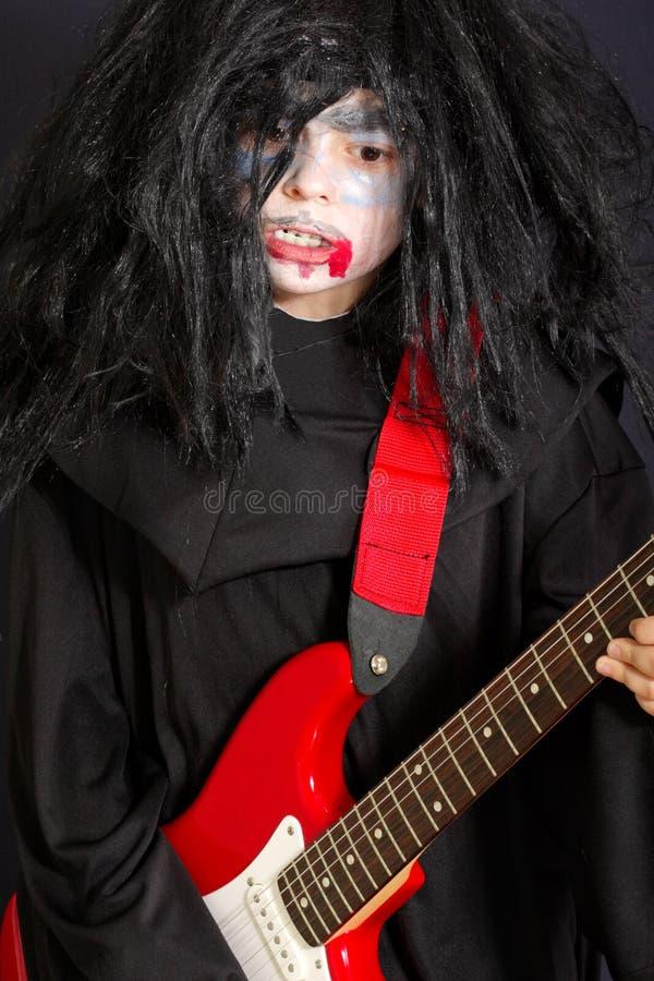 Free Vampire With Guitar Stock Photo - 10894210