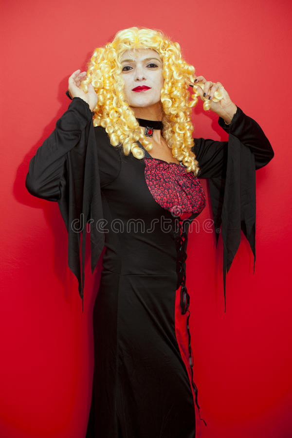 Download Vampire woman stock image. Image of carnival, costume - 28989775