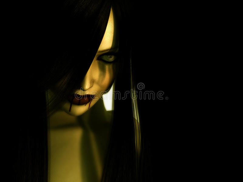 Download Vampire Woman Stock Photo - Image: 9440690