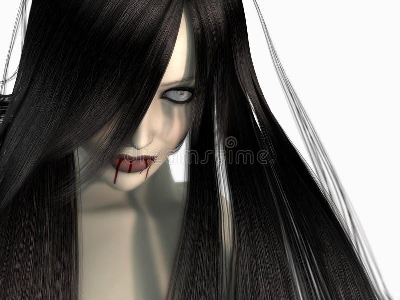 Download Vampire woman stock illustration. Illustration of girl - 9440706