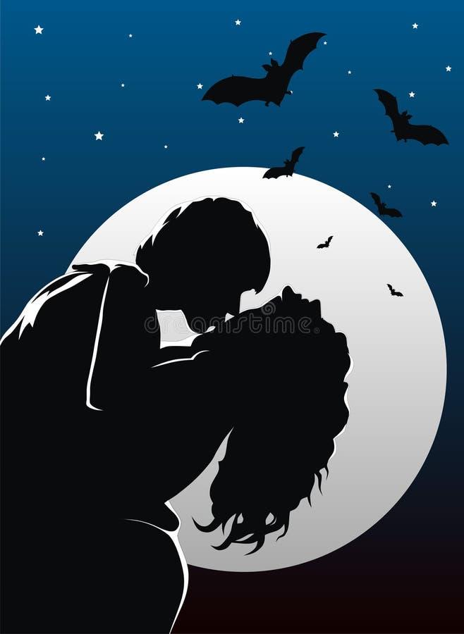Vampires illustration libre de droits