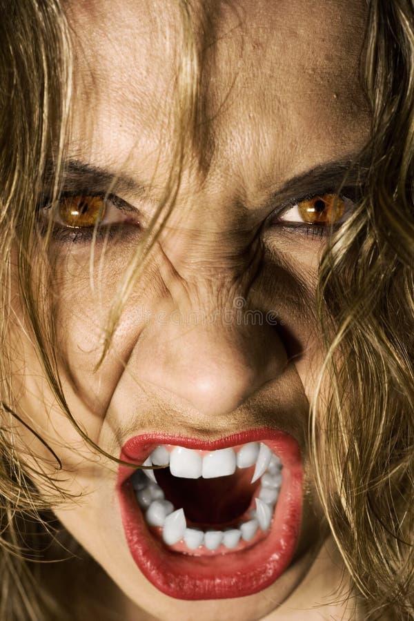 Vampiress foto de archivo libre de regalías