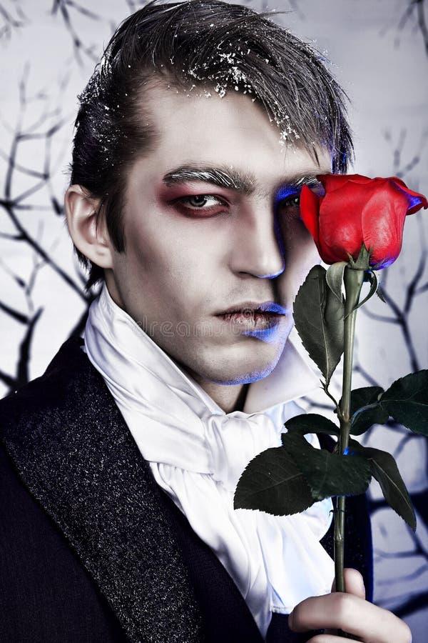 Vampiro imagem de stock