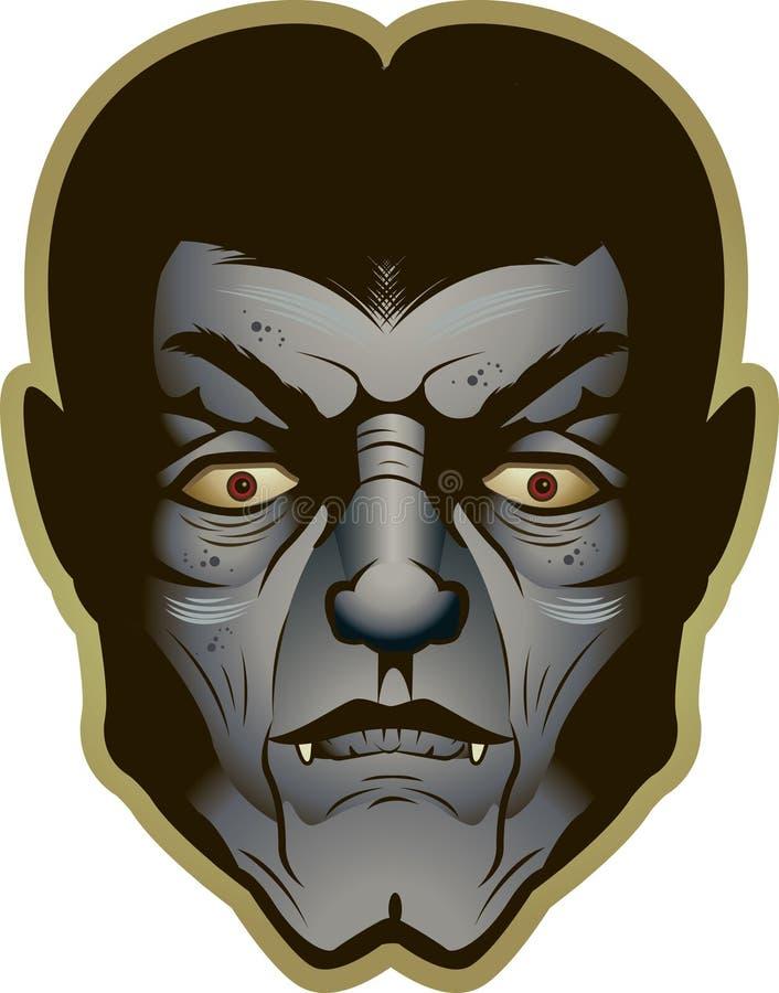 Vampiro ilustração stock
