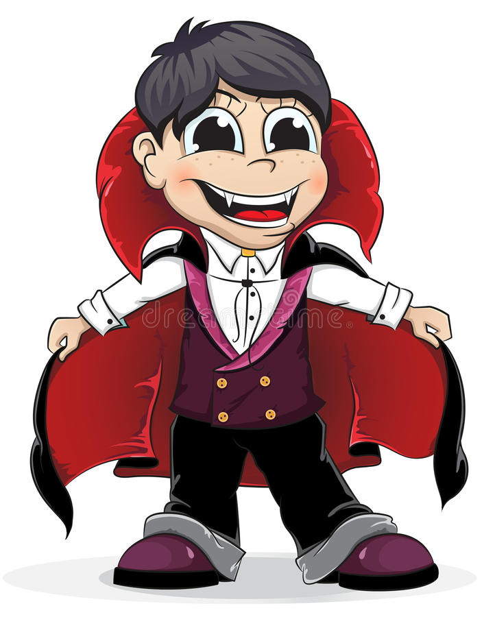 Vampiro ilustração royalty free