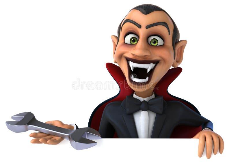 Vampiro illustrazione vettoriale