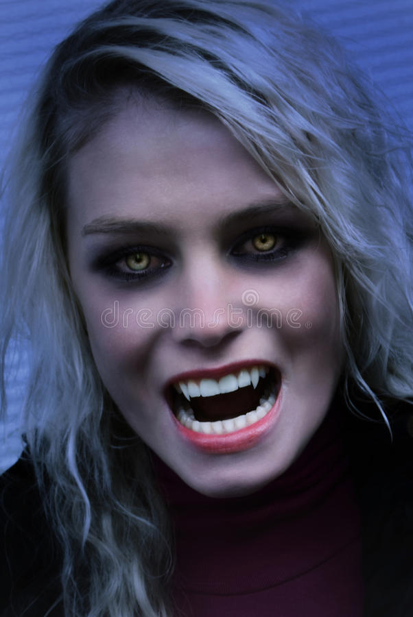 Vampiro affamato fotografie stock
