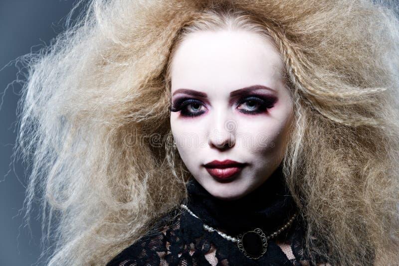 Vampiro bonito novo fotografia de stock