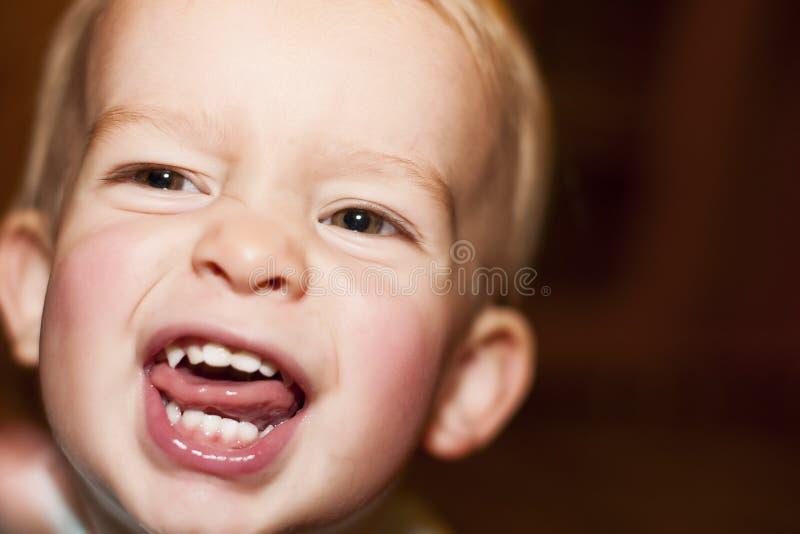 Vampiro da criança imagens de stock