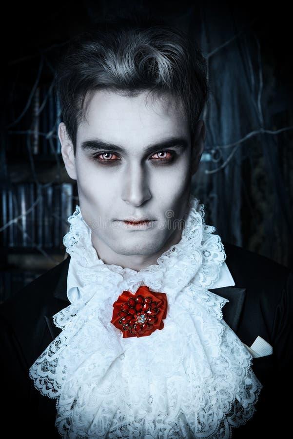 Vampiro de Hallowin fotografia de stock