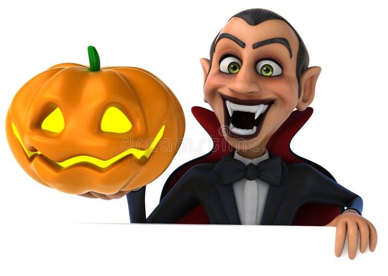 Vampiro di divertimento royalty illustrazione gratis