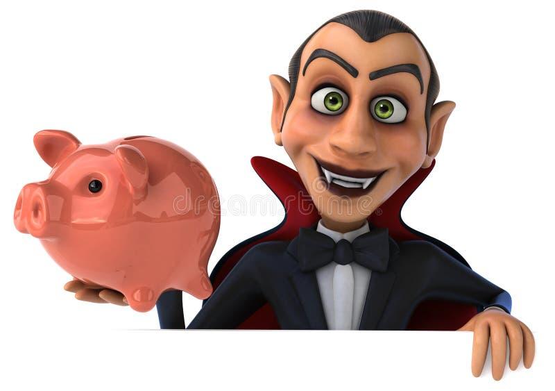 Vampiro di divertimento illustrazione di stock