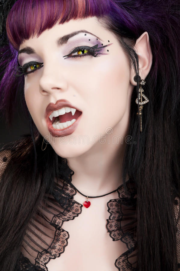 Vampiro di Fangtastic fotografia stock libera da diritti