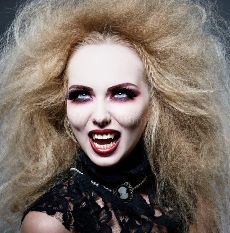 Vampiro en la noche fotografía de archivo