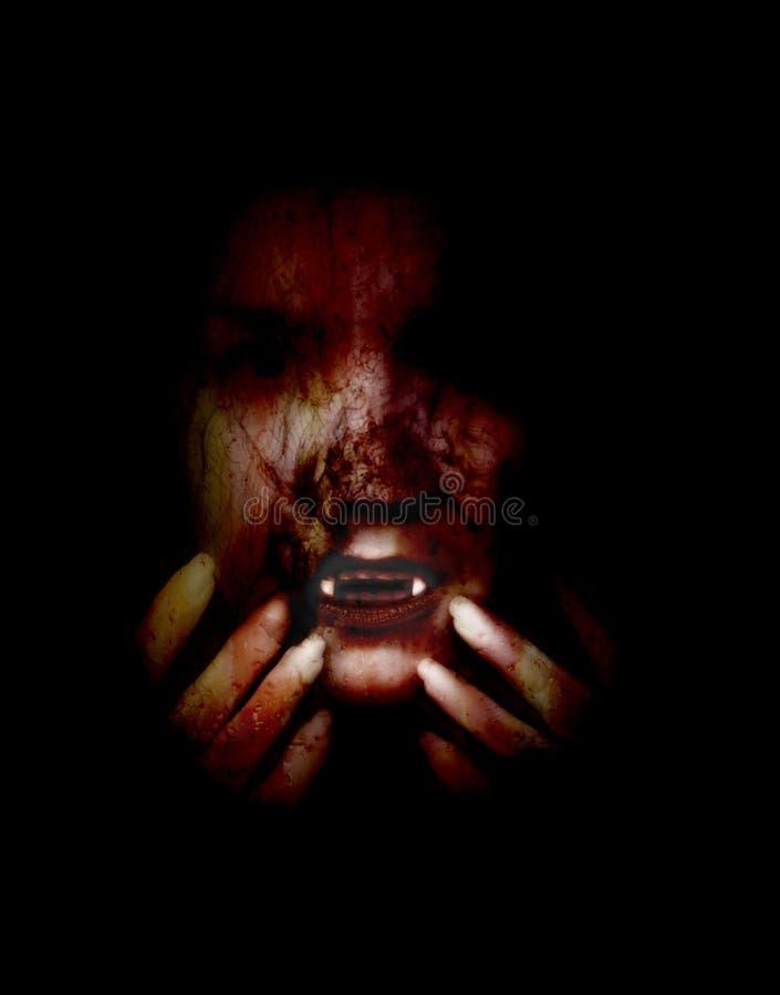 Vampiro femenino foto de archivo libre de regalías