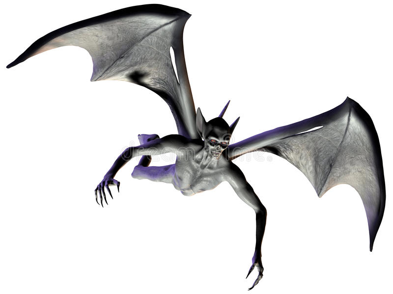 Vampiro - figura de Halloween ilustração do vetor