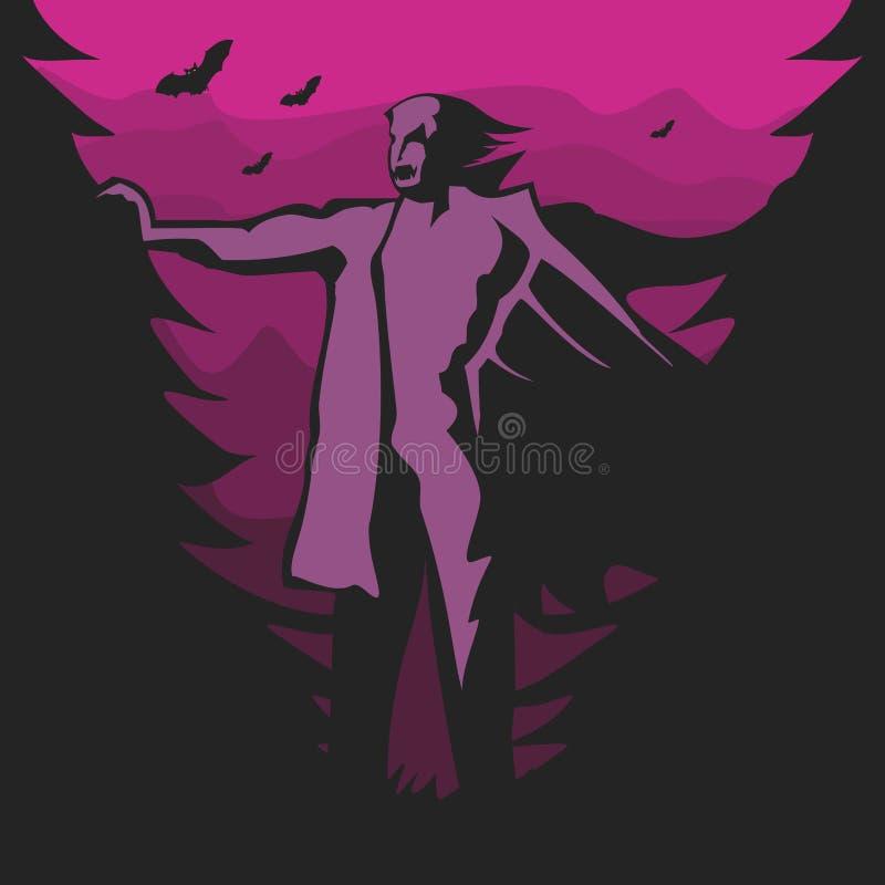Vampiro ultravioleta libre illustration