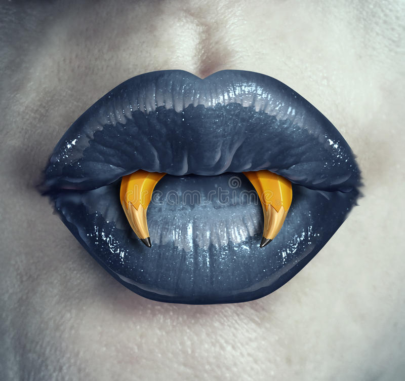 Vampirs-Kreativität vektor abbildung