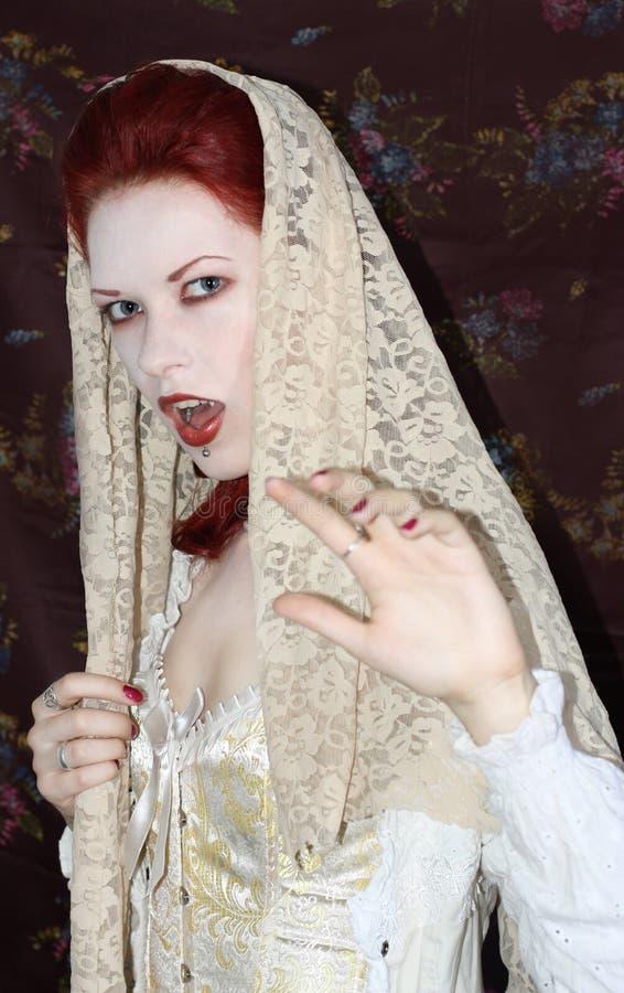 Vampyr royaltyfri fotografi