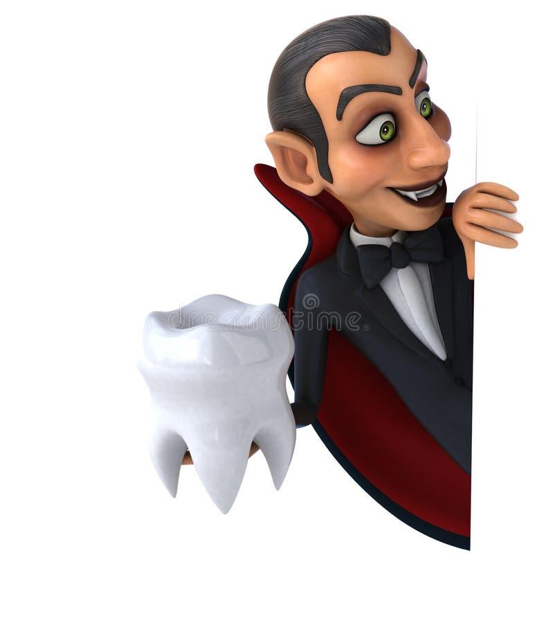 vampyr stock illustrationer
