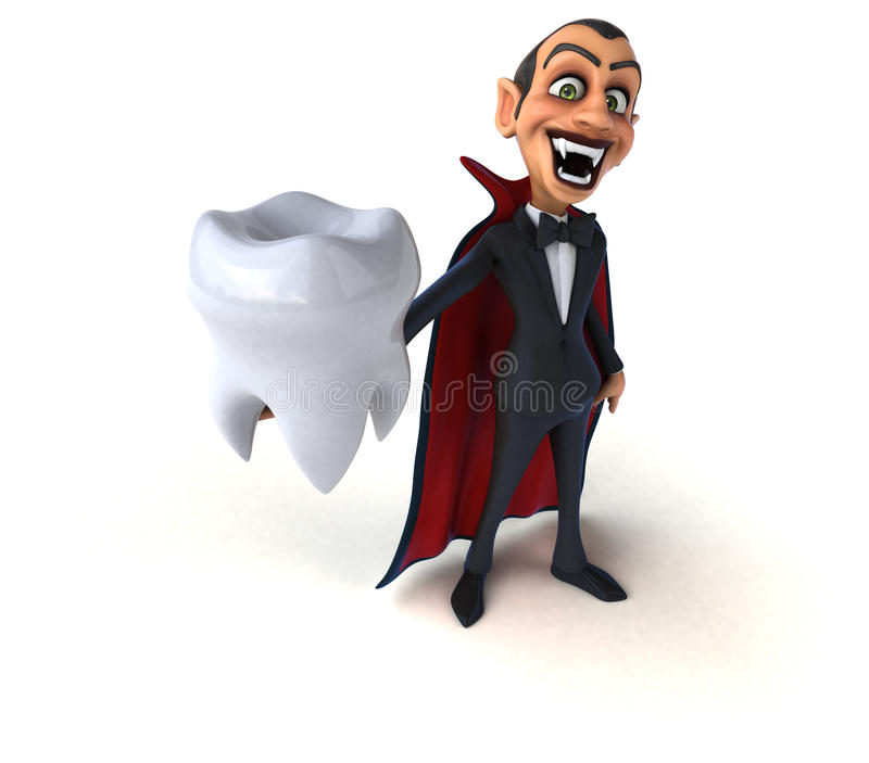 vampyr royaltyfri illustrationer
