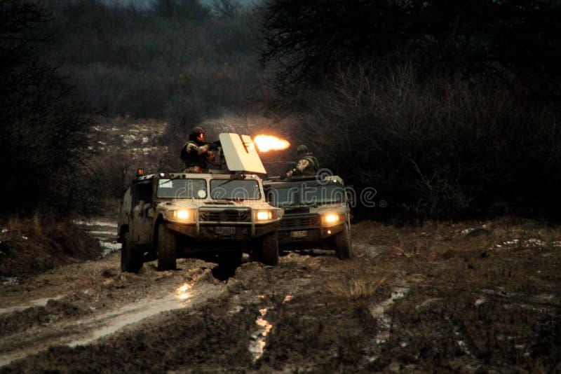 Vamtacs militaires images libres de droits