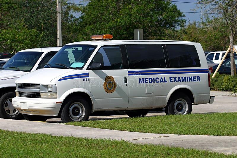 Download Van 1 Des Untersuchungsarztes Stockbild - Bild von verbrechen, grafschaft: 44673