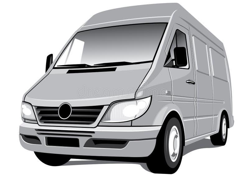 Download Van stock vector. Image of object, automobile, commerce - 14655683