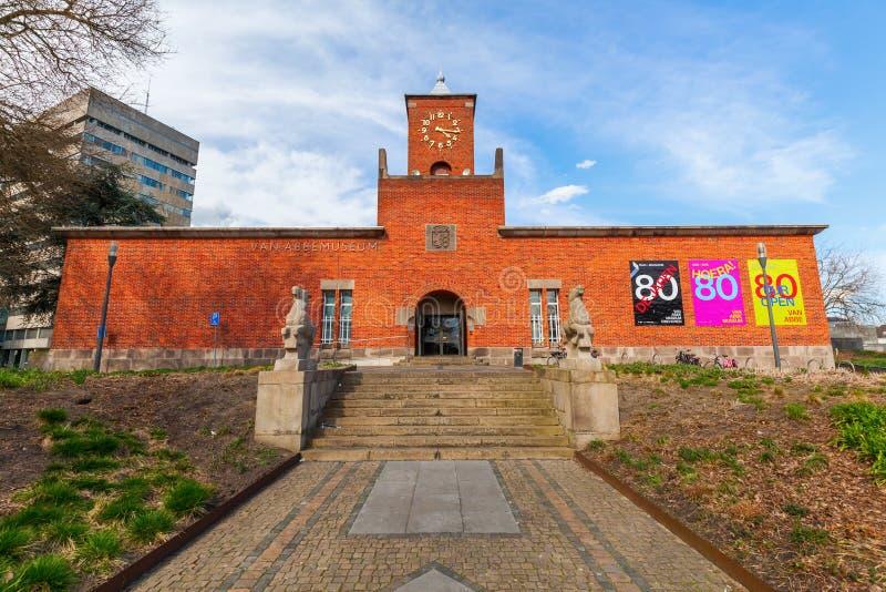 Van Abbemuseum in Eindhoven, Nederland royalty-vrije stock foto's