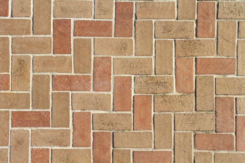 Van achtergrond baksteenbetonmolens Textuur van hierboven royalty-vrije stock fotografie