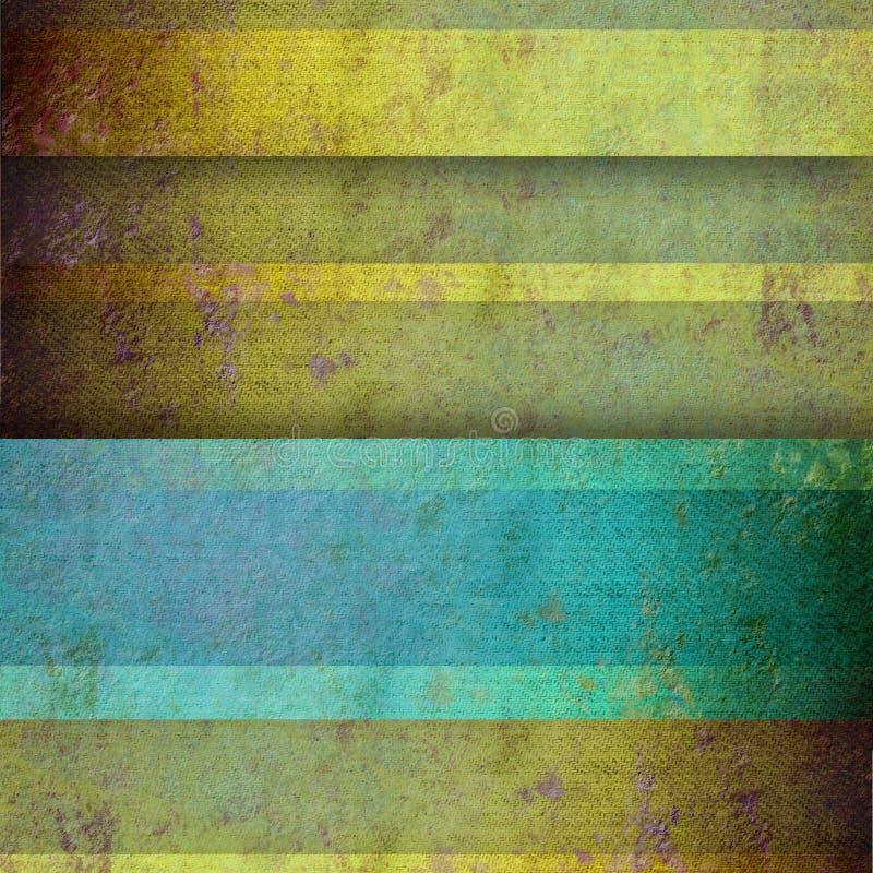 Van Achtergrond grungelijnen exemplaarruimte stock illustratie