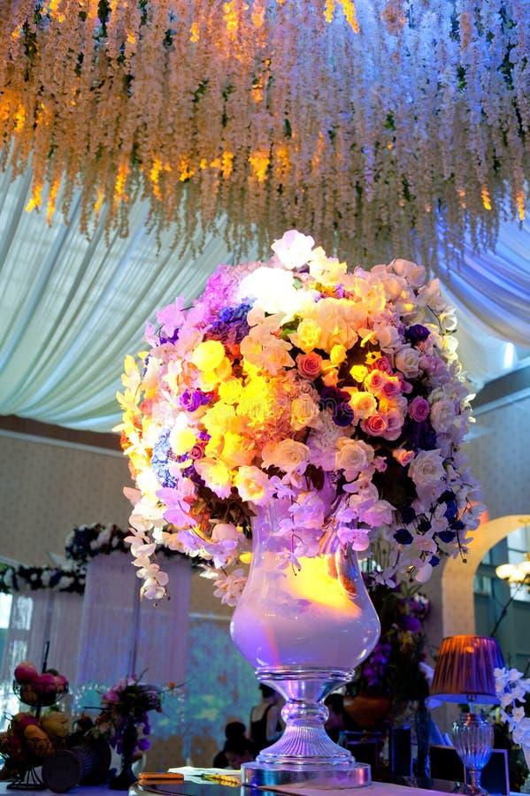 Van achtergrond huwelijksbloemen ontwerpfase stock afbeelding