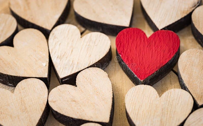 Van achtergrond liefdeharten textuur stock afbeelding