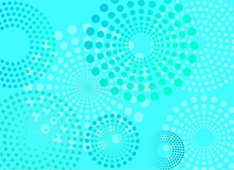 Van achtergrond punten ontwerp vector illustratie