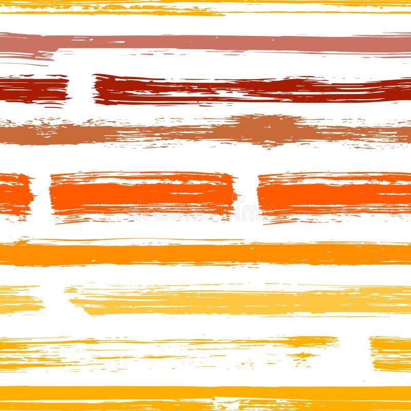 Van achtergrond waterverfstrepen grunge vector royalty-vrije illustratie